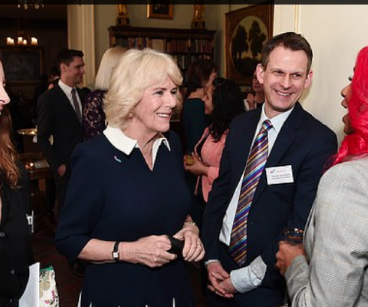 The Duchess of Cornwall held a reception at Clarence House to mark the 15th anniversary of the SafeLives charity.