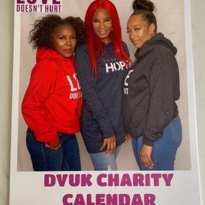 charity calendar for dvuk